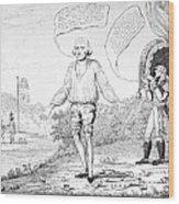 Embargo Repeal, 1809 Wood Print