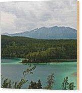 Emerald Lake Wood Print