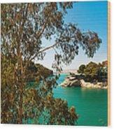 Emerald Lake With Duke House I. El Chorro. Spain Wood Print