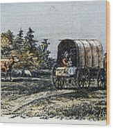 Emigrants To Ohio, 1805 Wood Print