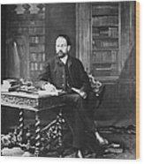 Emile Zola (1840-1902) Wood Print