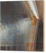 Emp Abstract Fold Wood Print