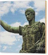 Emperor Caesar Augustus Wood Print