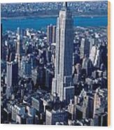 Empire State Building Nyc Wood Print
