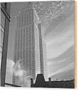 Empire State Wood Print