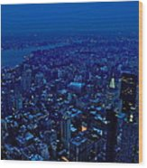 Empire State Of Mind Cold  Wood Print