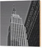 #empirestate #empire #usa #newyorker Wood Print