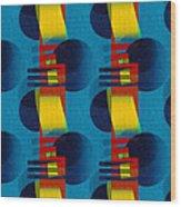 En Formes 01f Wood Print by Aimelle