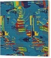 En Formes 03 Wood Print