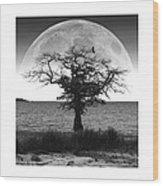 Enchanted Moon Wood Print