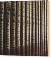 Encyclopedia Of Photography Wood Print