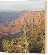 End Of Grand Canyon Day Wood Print