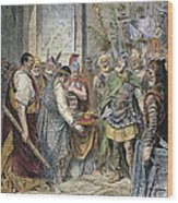 End Of Roman Empire Wood Print