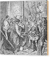 End Of The Roman Empire Wood Print
