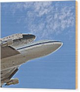Endeavour's Last Flight IIi Wood Print