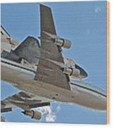 Endeavour's Last Flight Iv Wood Print