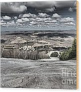 Endless Clouds Wood Print
