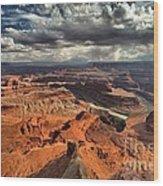 Endless Utah Canyons Wood Print
