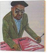 Engelbert Mveng Wood Print