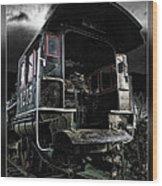 Engine 1215 Wood Print