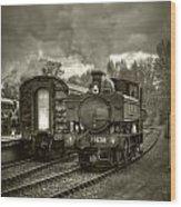 Engine 1638 Wood Print