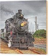 Engine 25 0040 Wood Print