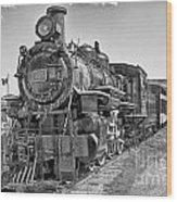 Engine 593 Wood Print
