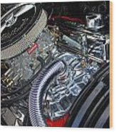 Engine 632 Wood Print