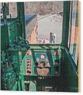 Engineer's View Wood Print