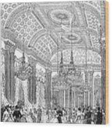 England - Royal Ball 1848 Wood Print