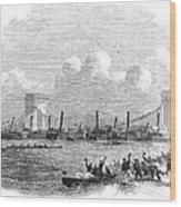 England: Boat Race, 1858 Wood Print