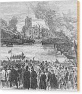 England: Boat Race, 1869 Wood Print