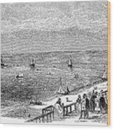 England: Brighton, 1853 Wood Print