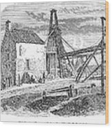 England: Coal Mining Wood Print