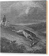 England: Coursing, 1833 Wood Print
