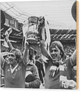 England: Fa Cup, 1977 Wood Print