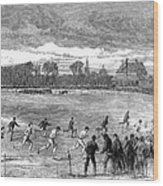 England: Foot Race, 1866 Wood Print