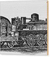 England: Locomotive, C1831 Wood Print