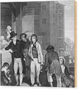 England: Merchant, 1800 Wood Print