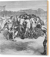England: Rugby (1871) Wood Print