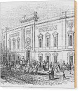 England: Theatre, 1843 Wood Print