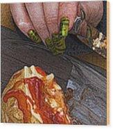 Enjoy Wood Print by Barry Hayton