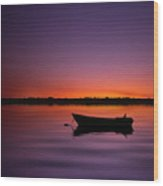 Enjoying Serenity Wood Print