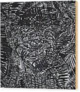 Enkai Of Maasai Tradition Wood Print
