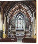 Ennis Cathedral Wood Print