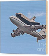 Enterprise Space Shuttle  Wood Print