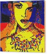 Entertainer Wood Print