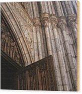 Entrance To St. Patrick's  Wood Print