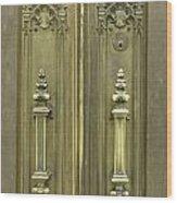 Entryway Wood Print by David Bearden