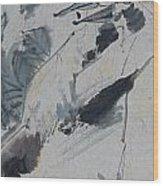 Entwine Wood Print by Jayamini  De Silva